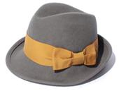 ハンサムハット,中折れハット,帽子,【allureville】REBECCA FELT HAT