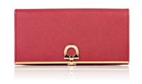 サルヴァトーレ フェラガモ 2013年秋冬コレクション,型押しカーフ,金運アップ!?するかも財布