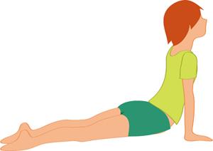 ヨガ,背中,痛み,腰痛,コブラのポーズ