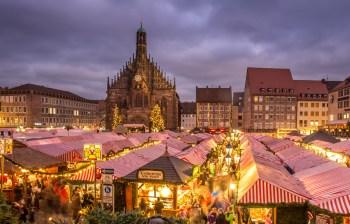 ニュルンベルグのクリスマスマーケット