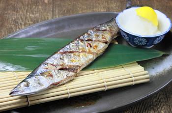 350 魚 サンマ 食べ物