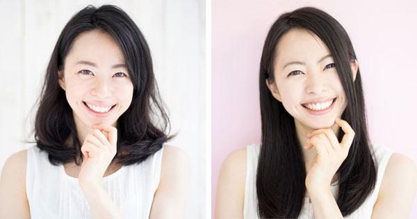 小顔に見せたい時にやりがちなNGスタイルと上手に小顔を作るヘアスタイル!