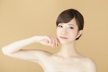 美肌の日本人女性