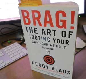 Book Cover: Brag! by Peggy Klaus