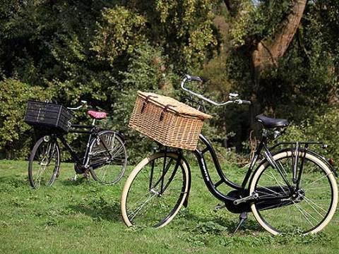 Twee van mijn fietsen als illustratie bij de door mij verzonnen blog vragenlijst de fiets-tag