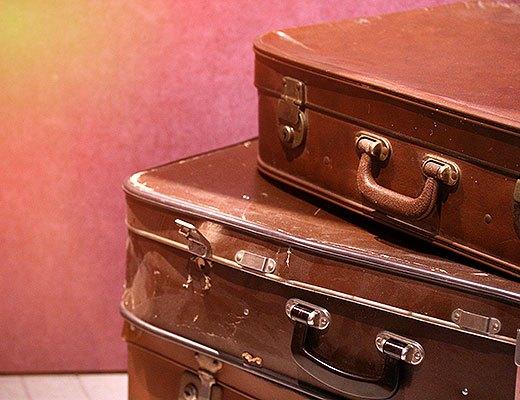 Koffers bij een 6 woorden verhaal over gastvrijheid