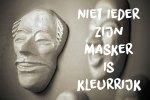 Een Zes woorden verhaal over een masker