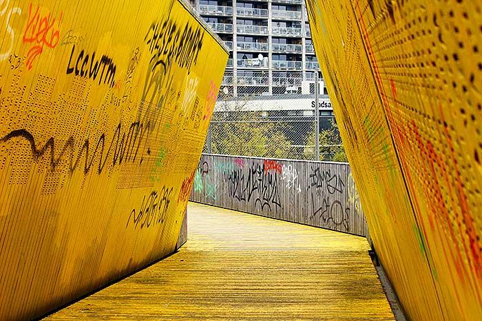 Fotoserie: Luchtbrug Rotterdam