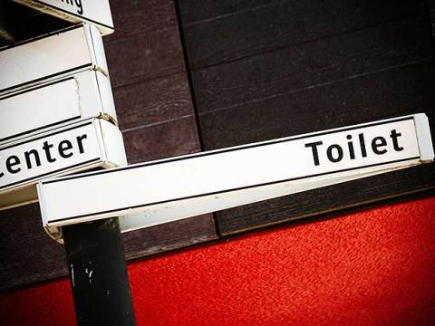 Foto bij een blog over een openbaar toilet