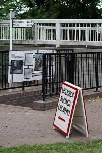 Bunker in het Valkhofpark