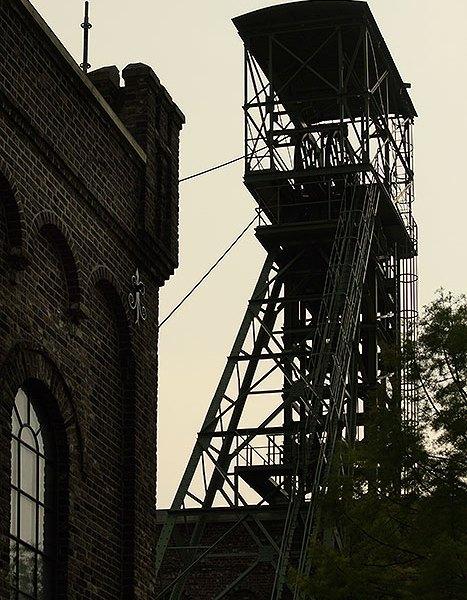 Liftgebouw Mijnmuseum Heerlen