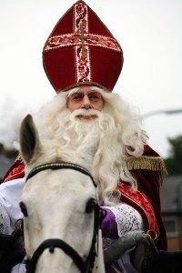 Sinterklaas is knap vermoeiend
