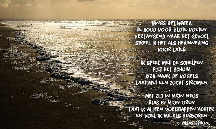 Strand Gedicht
