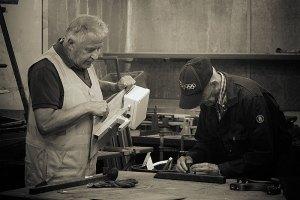 Fotoserie: De mannen van de Lichtjesroute