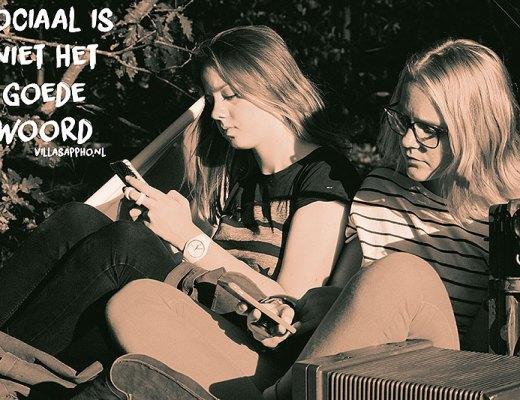 Zes woorden verhaal - Sociale Media