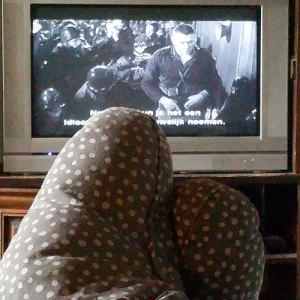 Ouderwets tv kijken