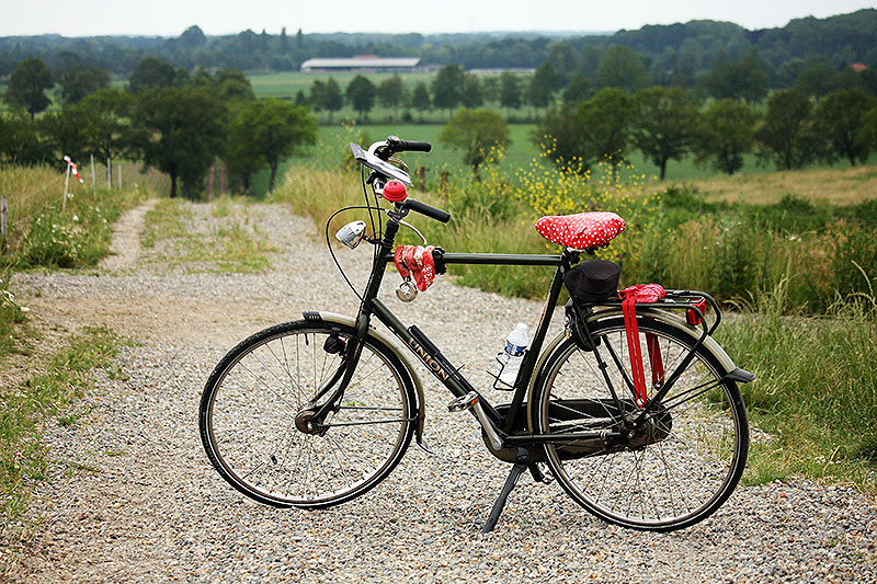 Eindelijk een rondje fietsen