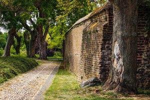 Oude stadsmuur Wessem