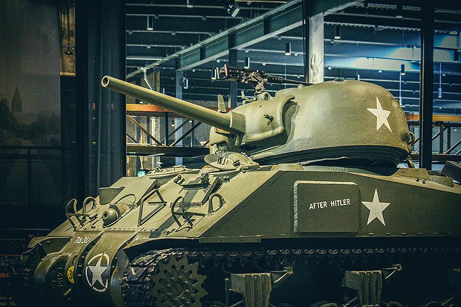 Een dagje oorlogsmuseum Overloon