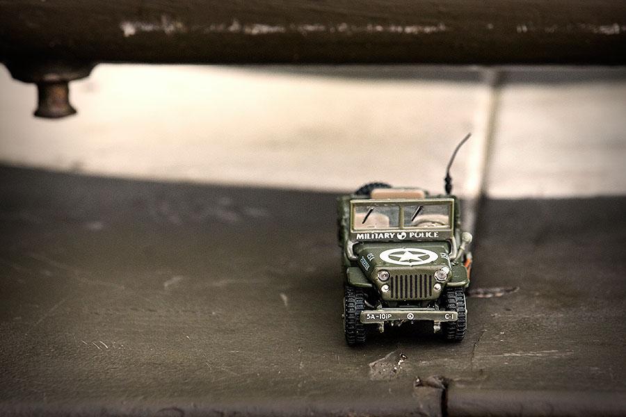 Een rondje dwalen met de Willys jeep