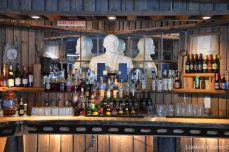 The bar and Lenin's bust