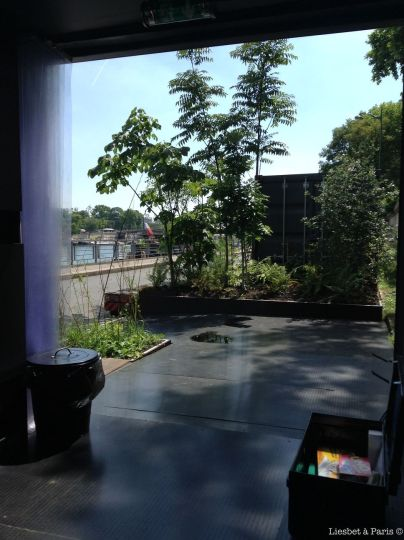 View on our terrace