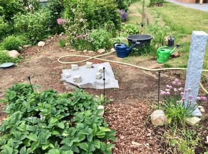 Projekt Gartenbewässerung
