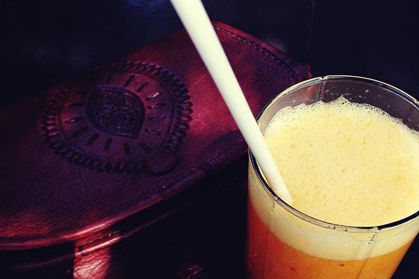 Frischer Orangensaft Marrakesch