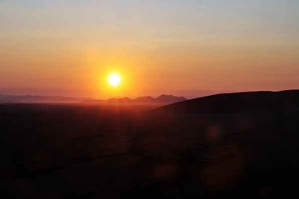 Namibia Sonnenaufgang
