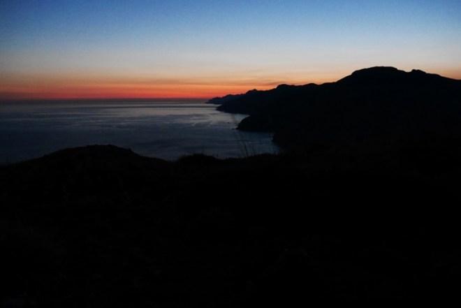 Sonnenaufgang-2.Etappe des GR221