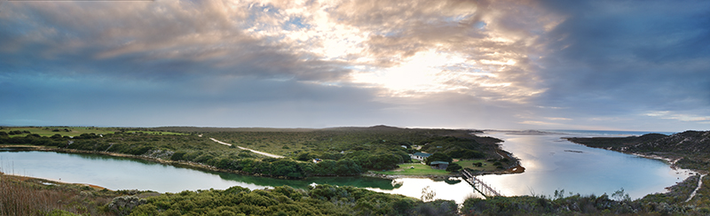 Landscape Photo of De Mond Nature Reserve by South AFrican Photographer Liesel Kershoff