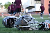 The ASU men's club lacrosse team had a 8-5 record in the 2016-2017 season. Head Coach Todd MacRobbie turned the team around after struggling his first season with the team.
