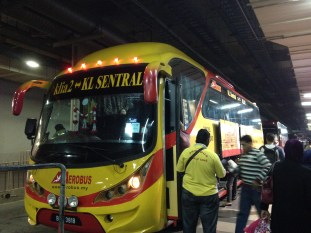 bus to KL Sentral