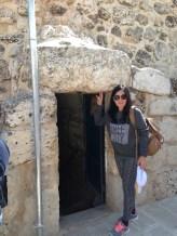 Lazarus' tomb