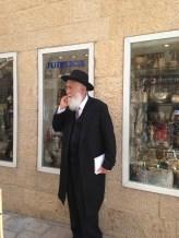 Jewish man in Jerusalem