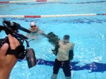 R. Valeikis atskleidė, kokiomis ekstremaliomis sąlygomis išmoko plaukti