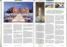 Geografinė Europos širdis Lietuva pristatoma Tokijo žurnale