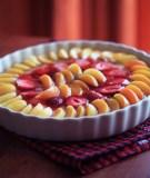 Gaivus pyragas su braškėmis ir abrikosais