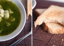 Cukinijų ir vištienos sriuba