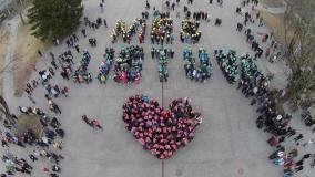 """Druskininkuose surengta akcija """"Mes Lietuvą mylime"""""""
