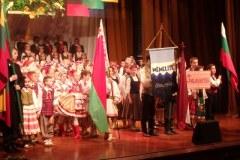 Liaudies šokiu ir muzika kvietė mylėti nepriklausomą Lietuvą