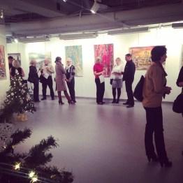 Meno paroda Lietuvių dailės muziejuje 2014 m. žiemą