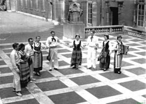 Folkloro grupė Sorbonos universitete, 1950–1960 m.