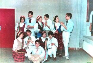 Prancūzijos lietuvių bendruomenės folklorinių šokių grupė, 1967 m.