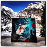 """Mėlynas žiemos portretas"", 2013 m."