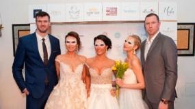 Prabangių vestuvinių suknelių pristatymas Raudondvario dvare