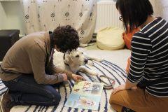 Kaip šuo gali padėti mokytis skaityti?