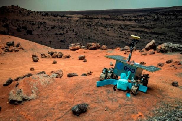 Marsaeigis. ESA nuotr.