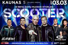 """Scooter"", ""2 Unlimited"" ir DJ Sash surengs grandiozinį muzikos šou Kaune"