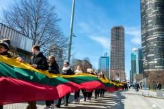Įspūdinga Lietuvos nepriklausomybės atkūrimo šventė Čikagoje